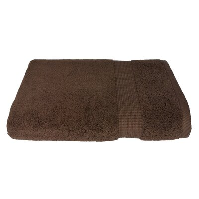 6 Piece Bath Towel Set Color: Brown