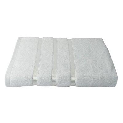 6 Piece Bath Towel Set Color: White