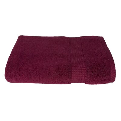 6 Piece Bath Towel Set Color: Crimson Red