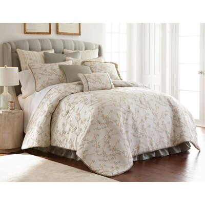 Lexington 4 Piece Luxury Comforter Set Size: King