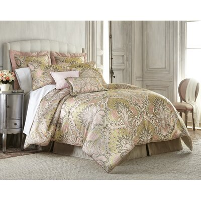 Wanderlust Luxury 4 Piece Comforter Set Size: Queen