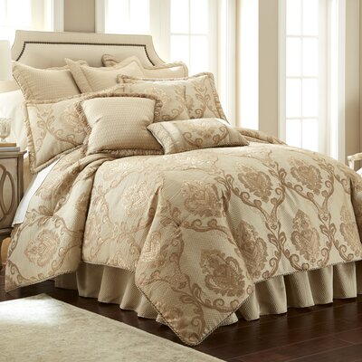 Prosper 4 Piece Comforter Set Size: Queen