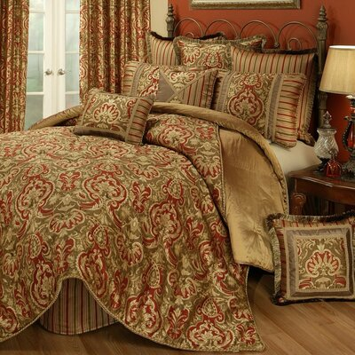 Botticelli 4 Piece Comforter Set Size: Queen