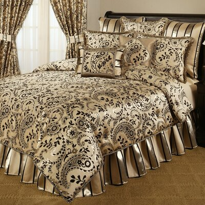 Savona 4 Piece Comforter Set Size: California King