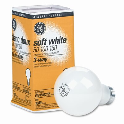 50/100/150W 120-Volt Incandescent Light Bulb (Set of 2)