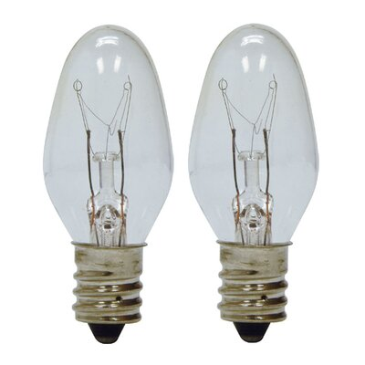 4W 120-Volt Light Bulb Finish: Clear