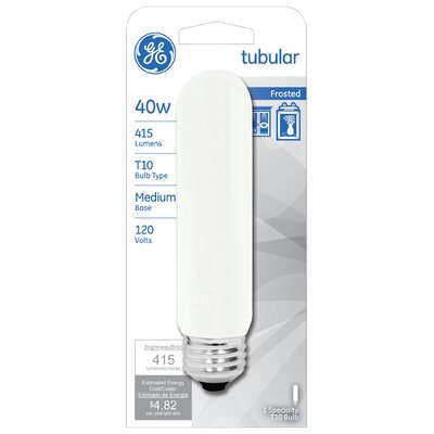 40W Frosted 120-Volt (2550K) Light Bulb