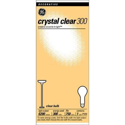 300W 130-Volt Incandescent Light Bulb