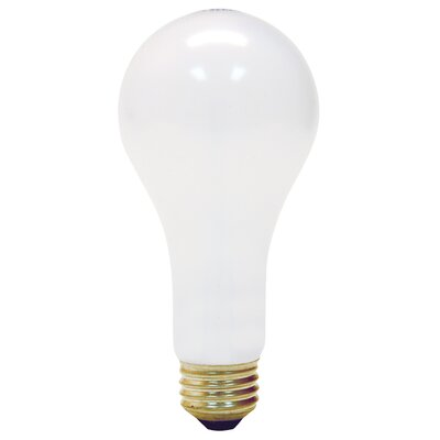 300W Frosted 130-Volt Incandescent Light Bulb