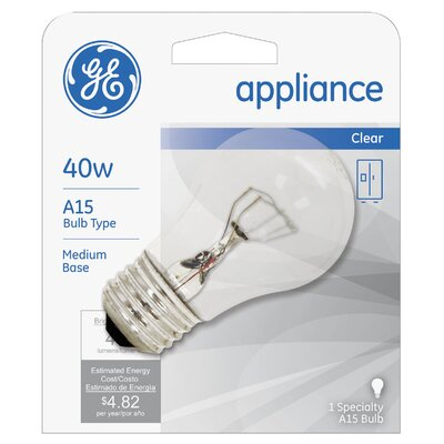40W 120-Volt (2600K) Light Bulb