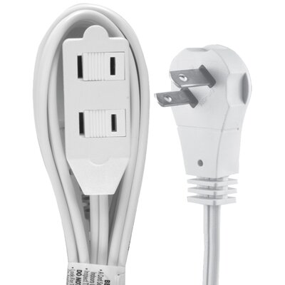 Wall Hugger Extension Cord Outlet