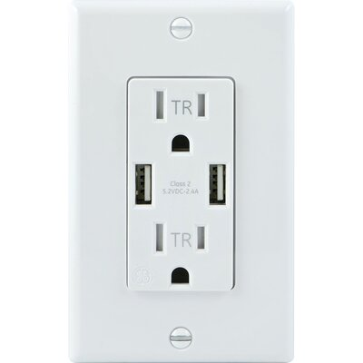 Receptacle Wall Mounted Outlet