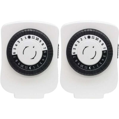 Polarized Plug-in Mechanical Timer Wall Mounted Outlet