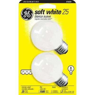 120-Volt (2500K) Incandescent Light Bulb Wattage: 25