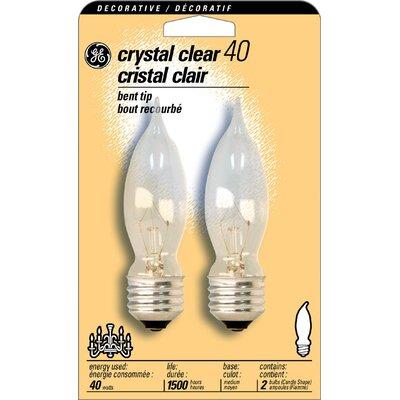 40W (2500K) Light Bulb (Pack of 2)