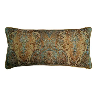 Jewel Tapestry Cotton Lumbar Pillow