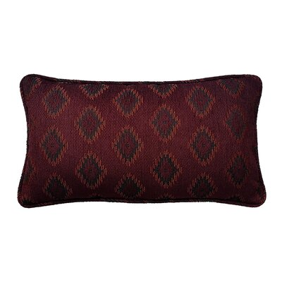 Diamond Jacquard Cotton Lumbar Pillow