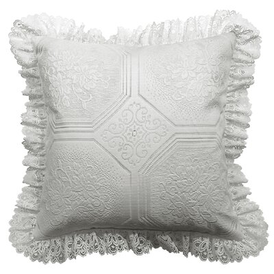 Throw Pillow Color: White