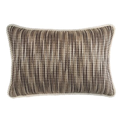 Woven Basketweave Lumbar Pillow