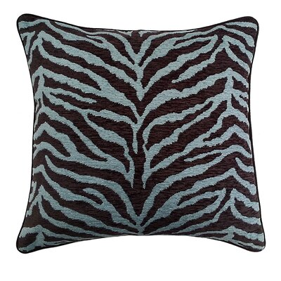 Zebra Stripe Jacquard Throw Pillow
