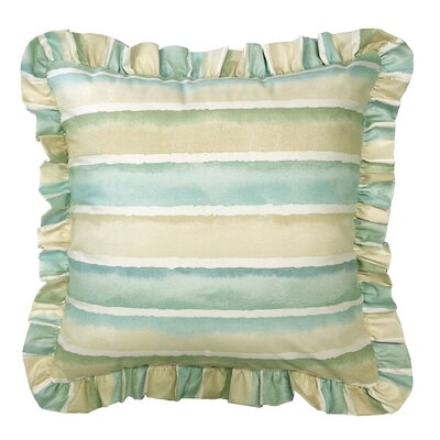 Dazzle Ruffled 100% Cotton Pillow