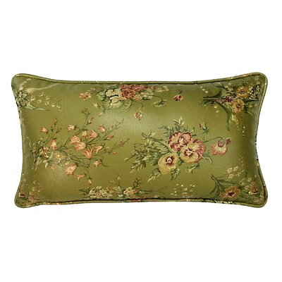 Golden Sage Garden Lumbar Pillow