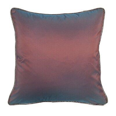 Taffeta Metallic Throw Pillow Color: Amethyst