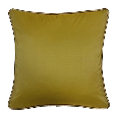 Taffeta Metallic Throw Pillow Color: Gold