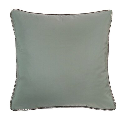 Taffeta Metallic Throw Pillow Color: Mineral