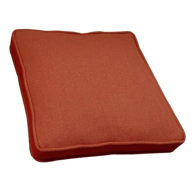 Loft Side Band Throw Pillow Color: Copper