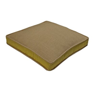 Loft Side Band Throw Pillow Color: Gold