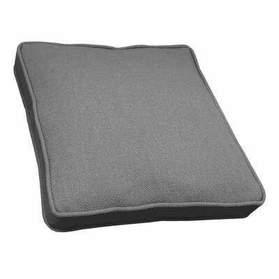 Loft Side Band Throw Pillow Color: Graphite