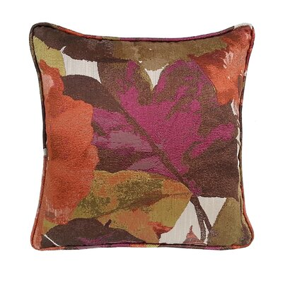 Fiji Floral Throw Pillow Color: Amethyst