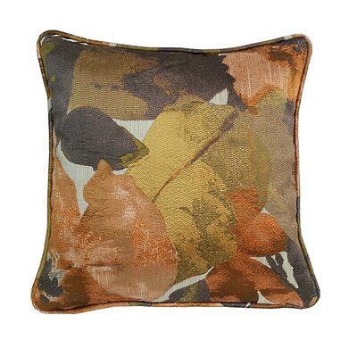 Fiji Floral Throw Pillow Color: Copper