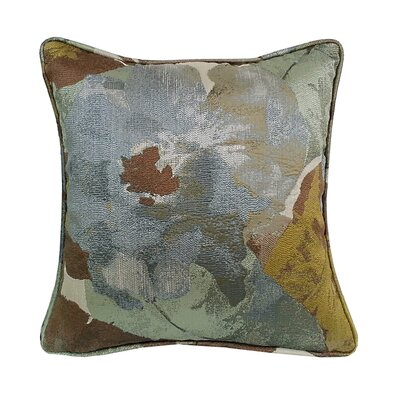 Fiji Floral Throw Pillow Color: Mineral