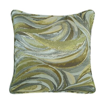 Marinella Abstract Throw Pillow Color: Mineral