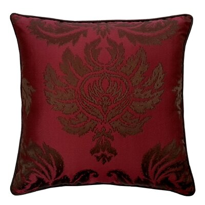 Majestic Shiraz Medallion Throw Pillow