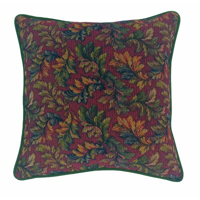 Alistar Tapestry Throw Pillow Color: Hunter