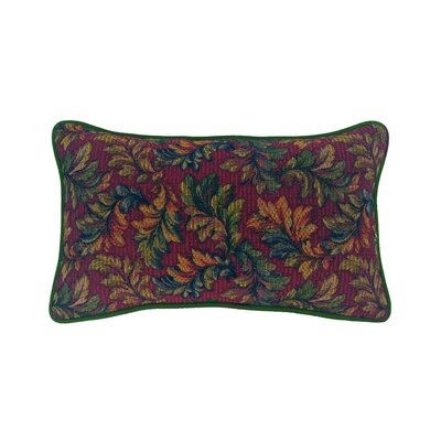 Alistar Tapestry Lumbar Pillow Color: Hunter