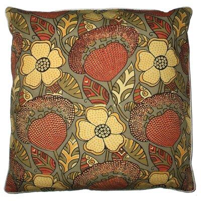 Lake Palace Silk Throw Pillow