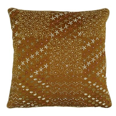 Lake Palace Silk Throw Pillow