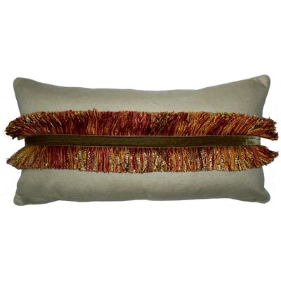 Lake Palace Fringe Lumbar Pillow