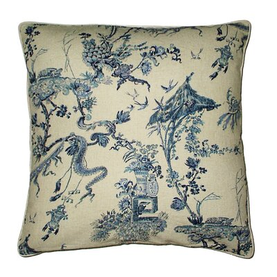 Amalfi Toile Throw Pillow