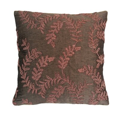 Brittany Embroidered Throw Pillow