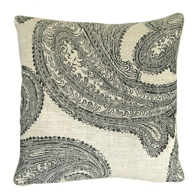 Barcelona Paisley Throw Pillow