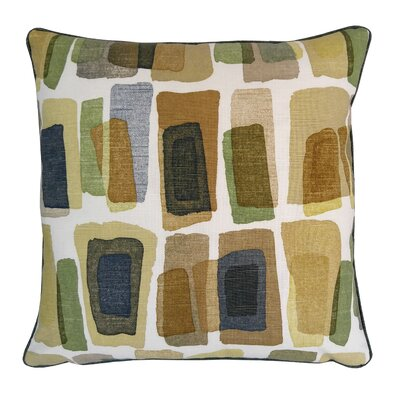 Oceana Watercolor Brick Throw Pillow