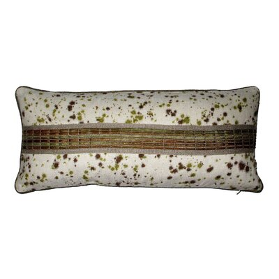 Oceana Painted Trim Lumbar Pillow