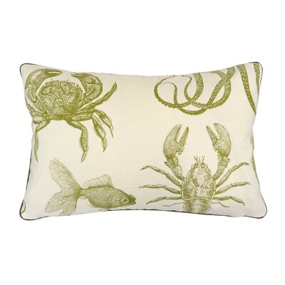 Oceana Sea Creatures Lumbar Pillow