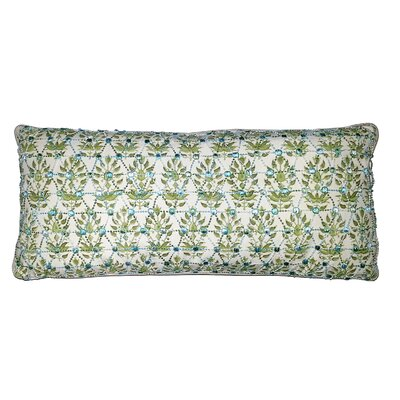 Oceana Knitted Overlay Lumbar Pillow