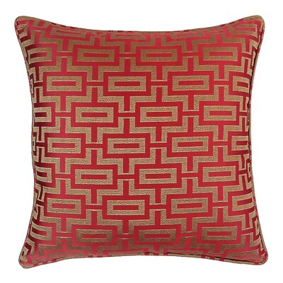 Poleis Fitch Geo Throw Pillow